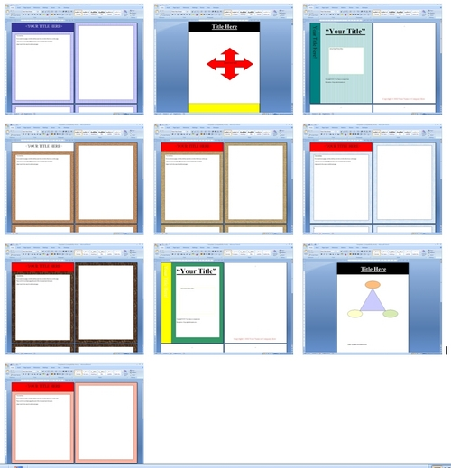Product picture Microsoft Word Templates
